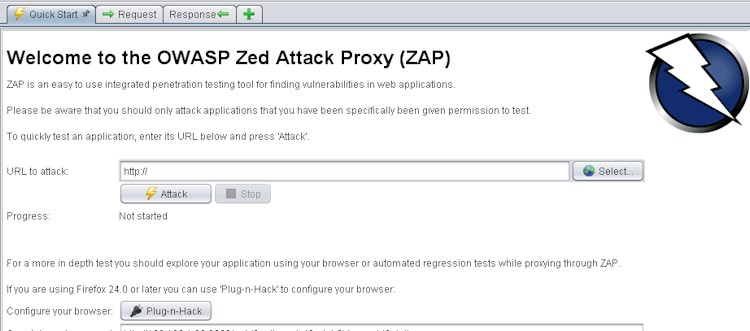 OWASP ZAP XXE vulnerability