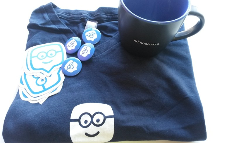 Thanks Edmodo for the swag