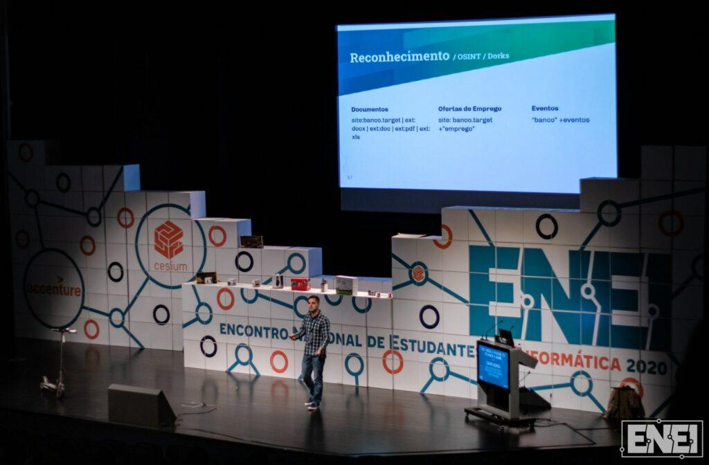 Speaker at ENEI2020